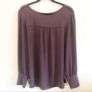 Loft Purple Blouse